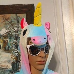RAINBOW UNICORN ONESIE Costume Pajamas Cosplay 6T